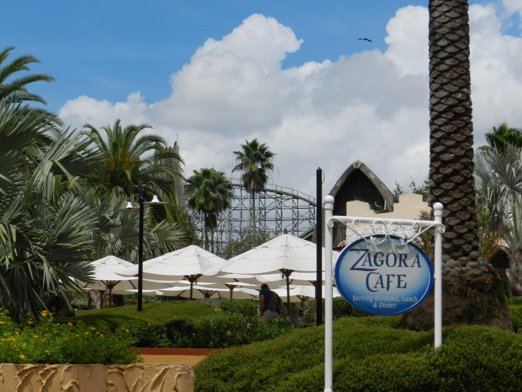 Gwazi Roller Coaster at Busch Gardens in 2012