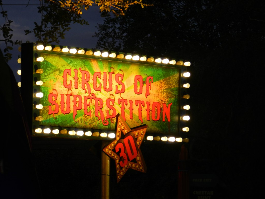 Howl-O-Scream 2012 Circus Superstitions