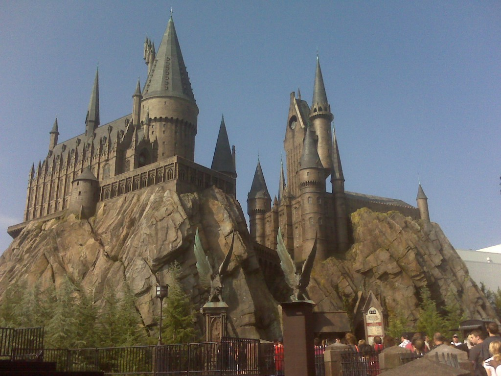 Wizarding World of Harry Potter Islands of Adventure Hogwarts Castle