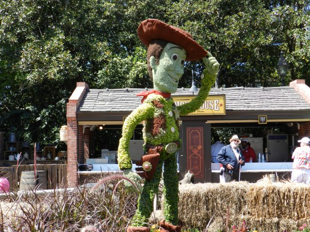 EPCOT Flower Garden Festival 2013 Woody from Toy Story Topiary