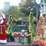 Epcot Festival of the Holidays with Pere Noel in France giving story.