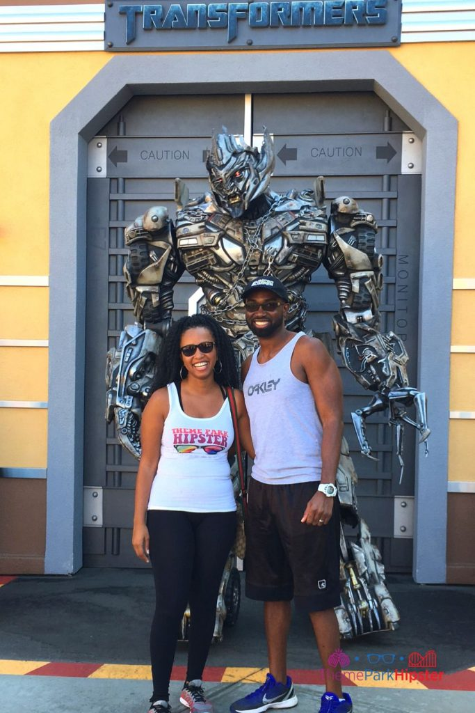 Meeting a Decepticon at Universal Studios Hollywood with NikkyJ