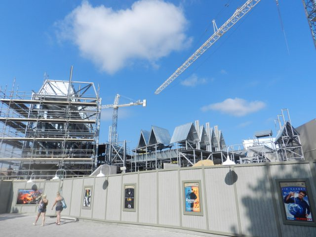 Wizarding World of Harry Potter Construction Diagon Alley Summer 2013