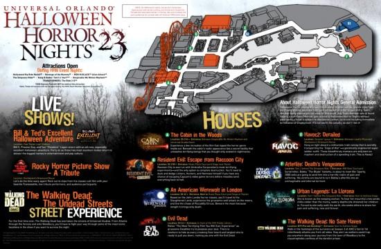 2013 Halloween Horror Nights Map 23
