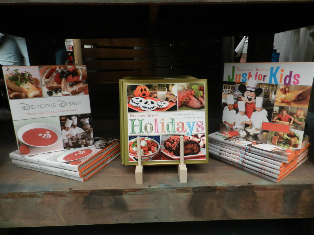 Festival Center Cookbook at Epcot Food and Wine Festival