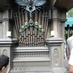 Haunted Mansion Magic Kingdom Secrets at Disney with Organ covered in Skulls.