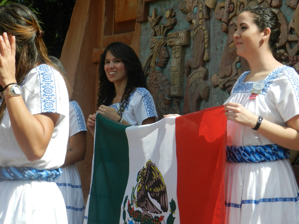 Mexico Pavilion opening ceremony
