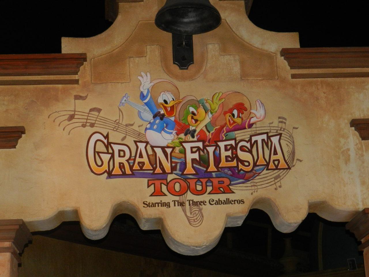 Gran Fiesta Tour Epcot Mexico Three Cabelleros