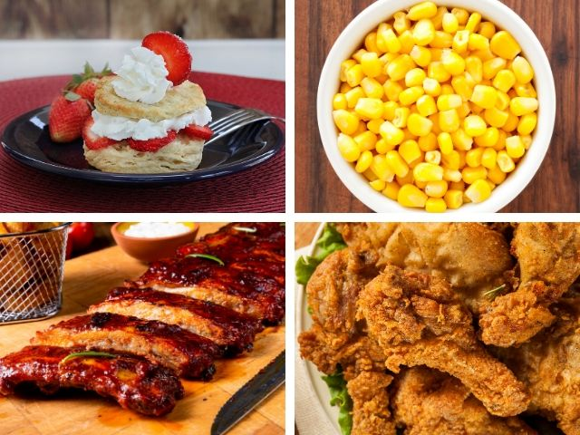Hoop Dee Doo Musical Revue Thanksgiving at Disney Golden Corn Fluffy Strawberry Shortcake Juicy Ribs Fried Chicken