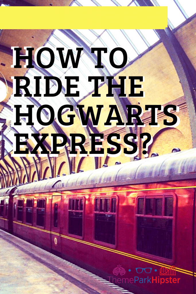 How to ride the Hogwarts express?