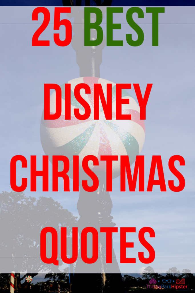 Best Christmas Quotes for Disney Holiday