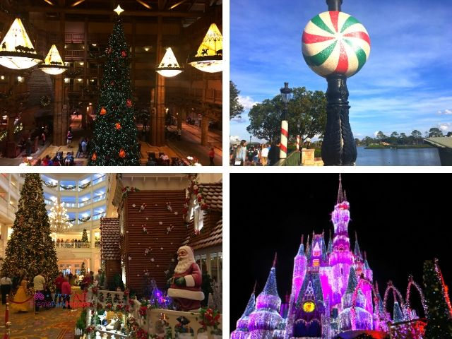 Best Christmas Quotes for Disney with Christmas Trees