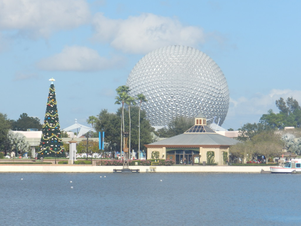 Christmas at Walt Disney World Epcot World Showcase