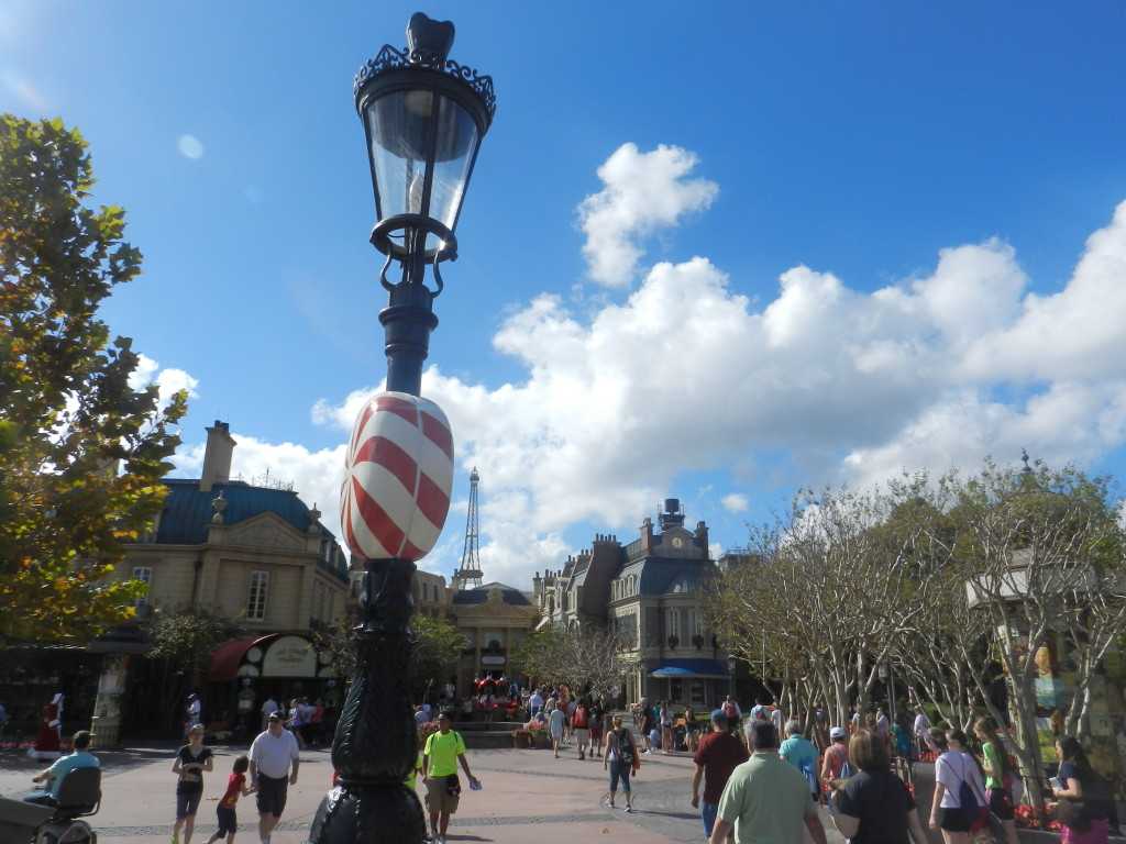 France Pavilion at Disney's Epcot. Top area romantic area in Epcot. #disneytips