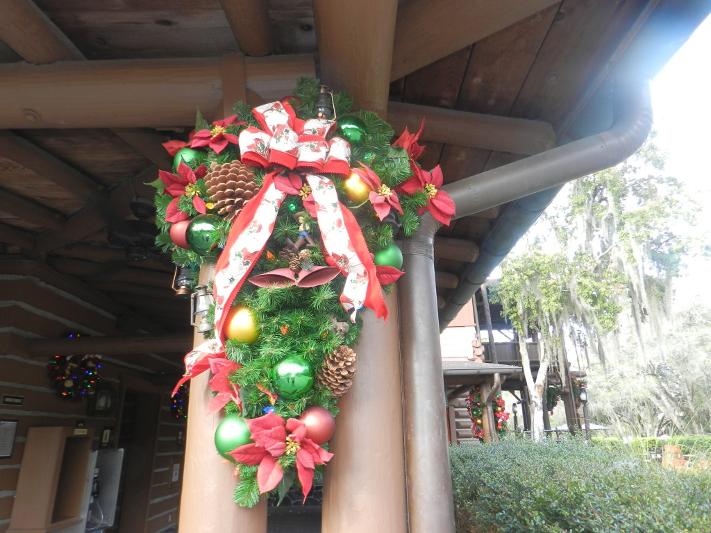 Fort Wilderness Campground Holiday Decorations Town Hall