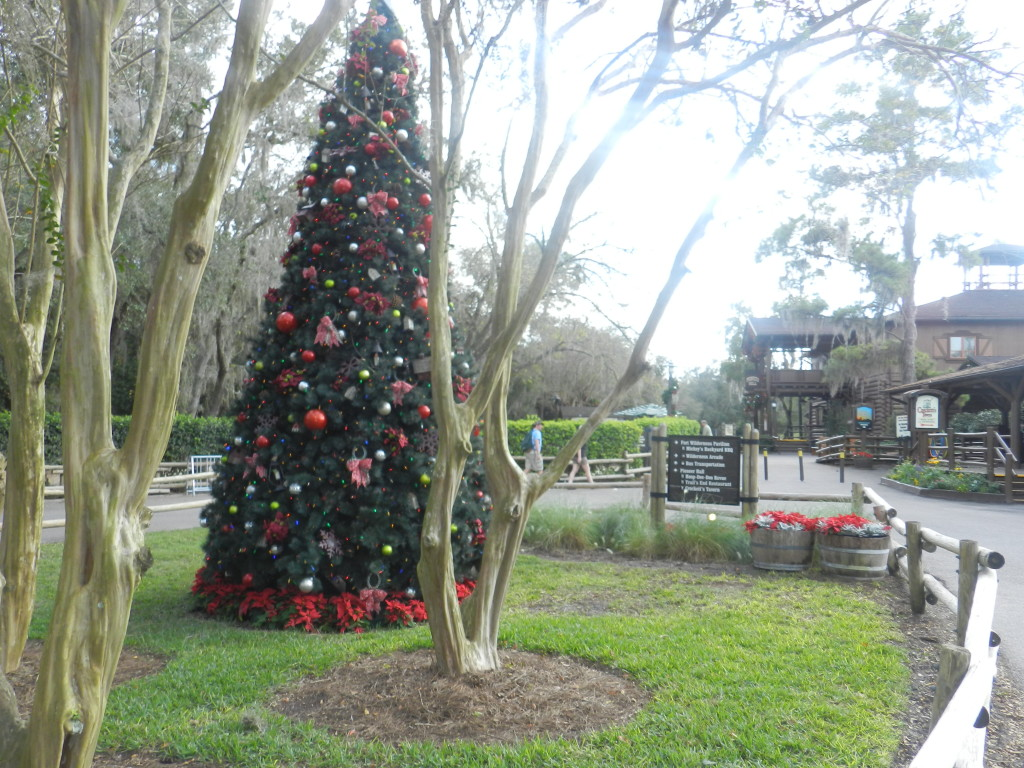 Christmas at Fort Wilderness Cabins