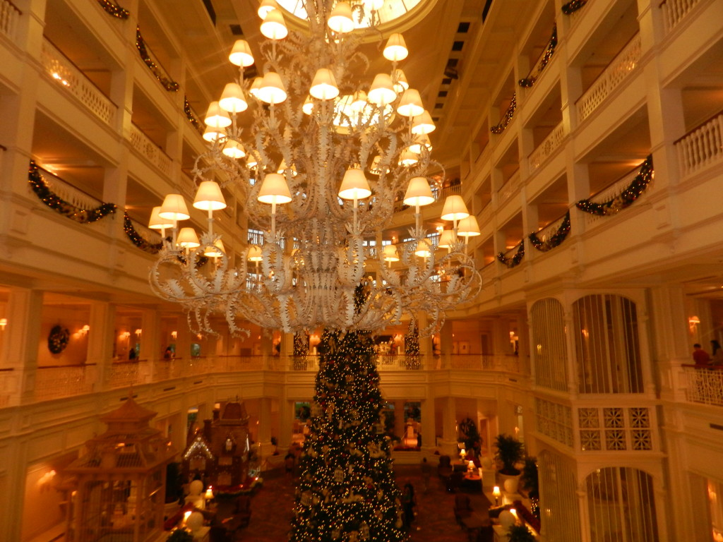 Christmas at the Grand Floridian Resort and Spa