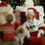 Disney Holidays with Santa Claus and Mrs. Claus