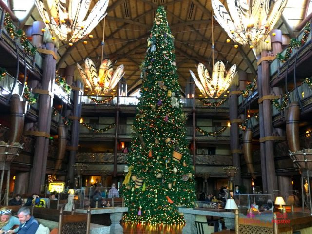 Disney at Christmas Animal Kingdom Lodge