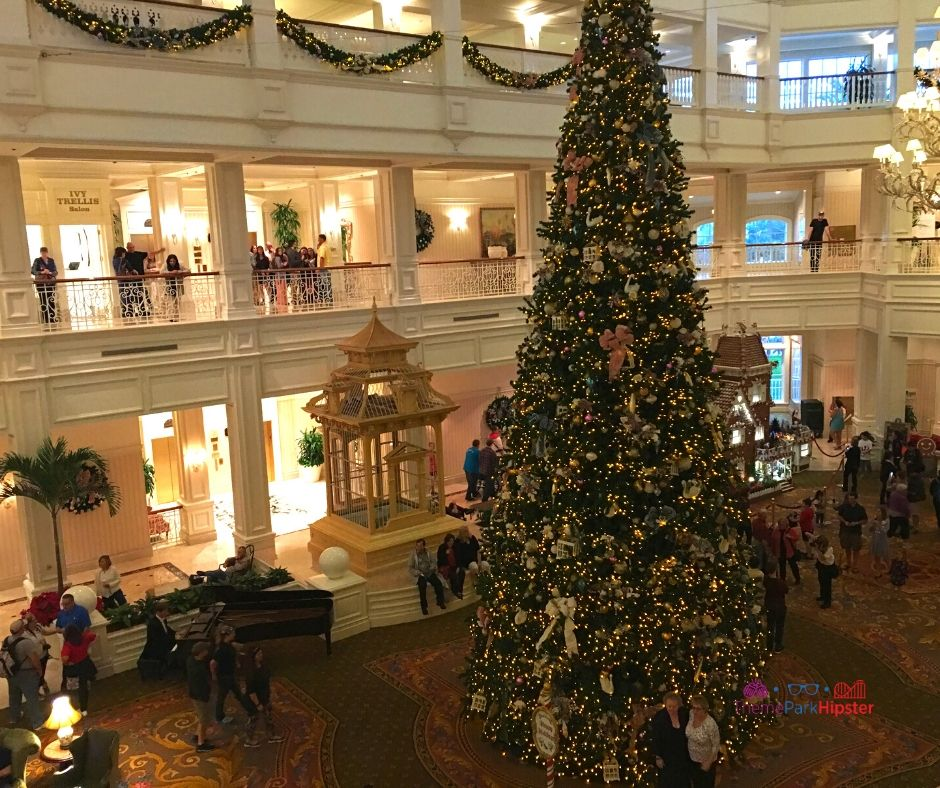 Disney at Christmas Grand Floridian Resort