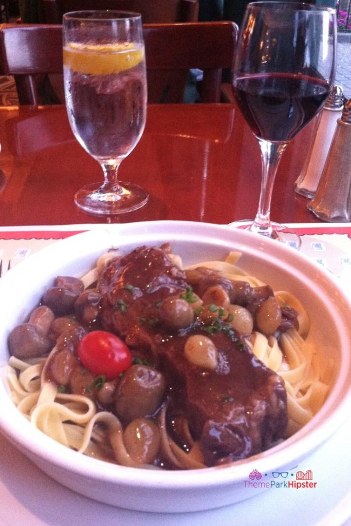 Creamy Braised Beef Short Rib at Chefs de France Disney World