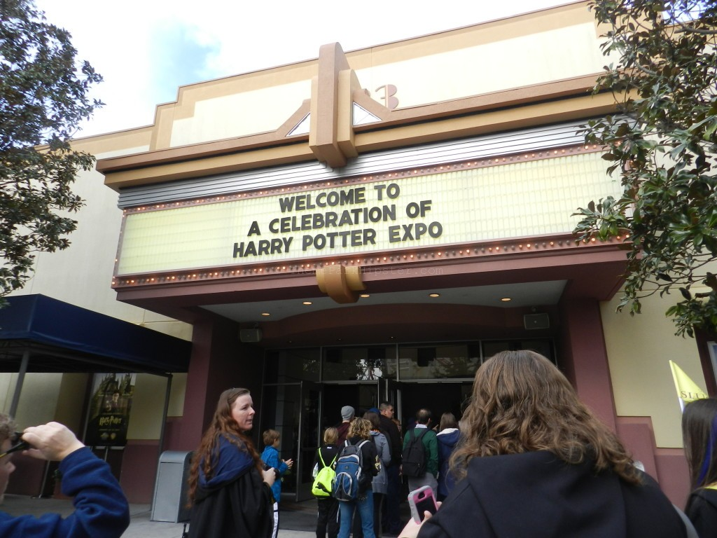 A Celebration of Harry Potter Expo Center with Wizards Gathering in the Front