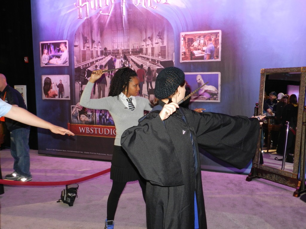 Two Women Dueling at A Celebration of Harry Potter