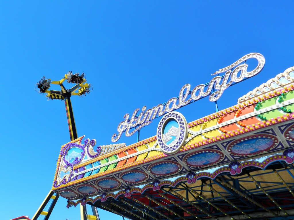 The classic Himalaya up against the modern day rides.