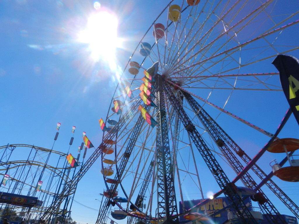 The classic Ferris Wheel at the Florida State Fair 2014