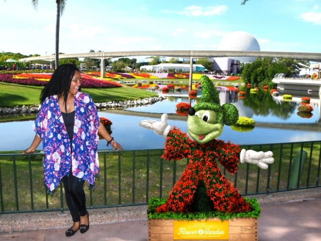 NikkyJ Going to Epcot Flower and Garden Festival Alone