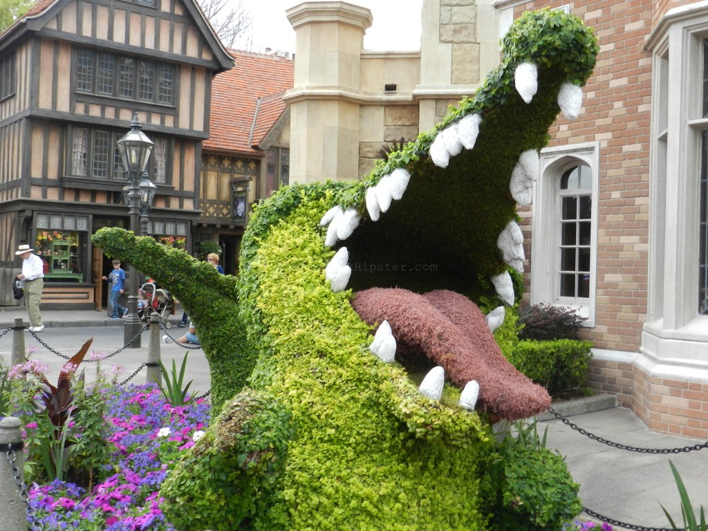 United Kingdom at Epcot Flower and Garden Festival 2014