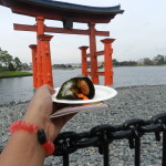 Japan Pavilion at Epcot with sacred red gate. #DisneyTips #Epcot #Japan