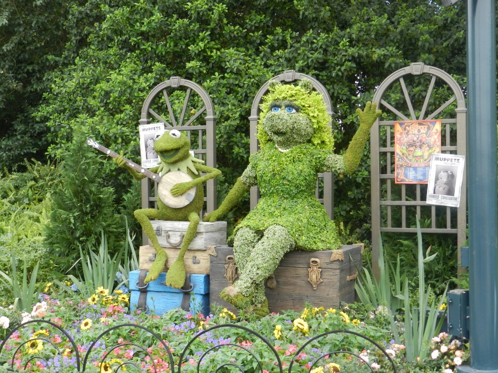 Muppets at Epcot Flower and Garden Festival