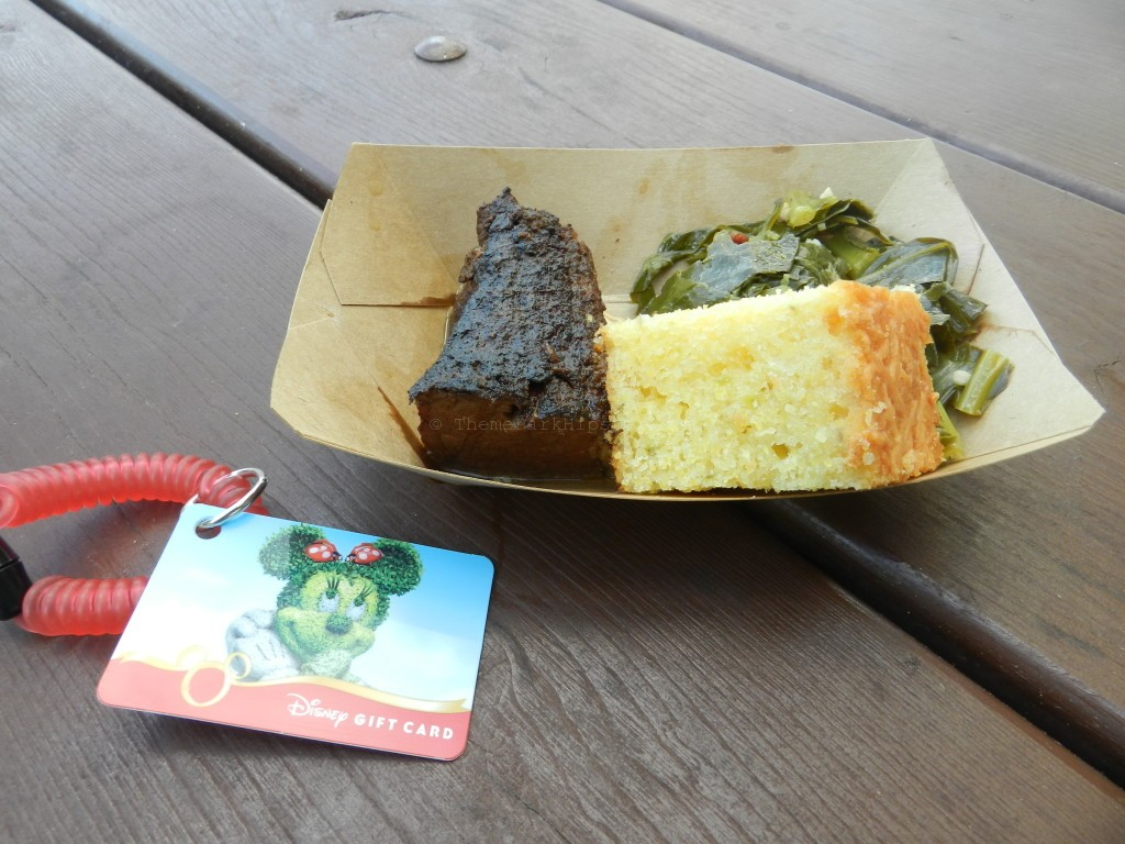 Festival Wristlet Smoked Beef Brisket with Collard Greens and Jalapeno Corn Bread Gluten