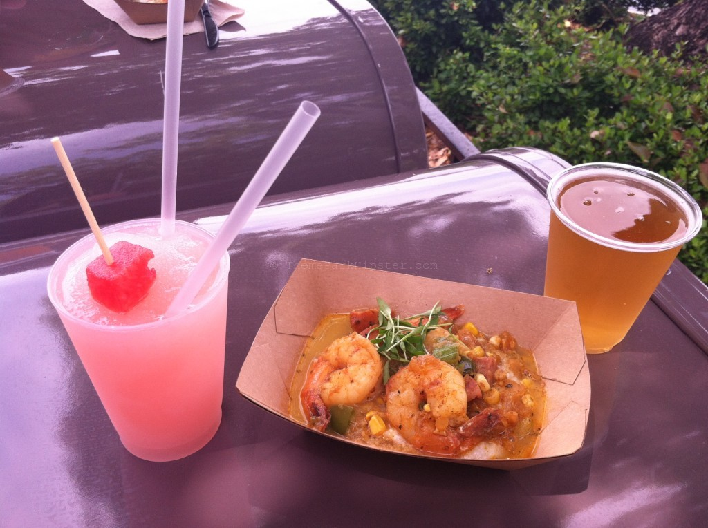 Shrimp and grits epcot Flower and Garden Festival #DisneyTips