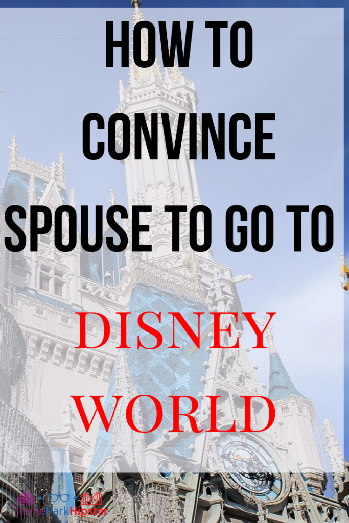 How to Get Husband to Go to Disney World