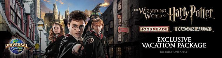 Universal Harry Potter Vacation Package