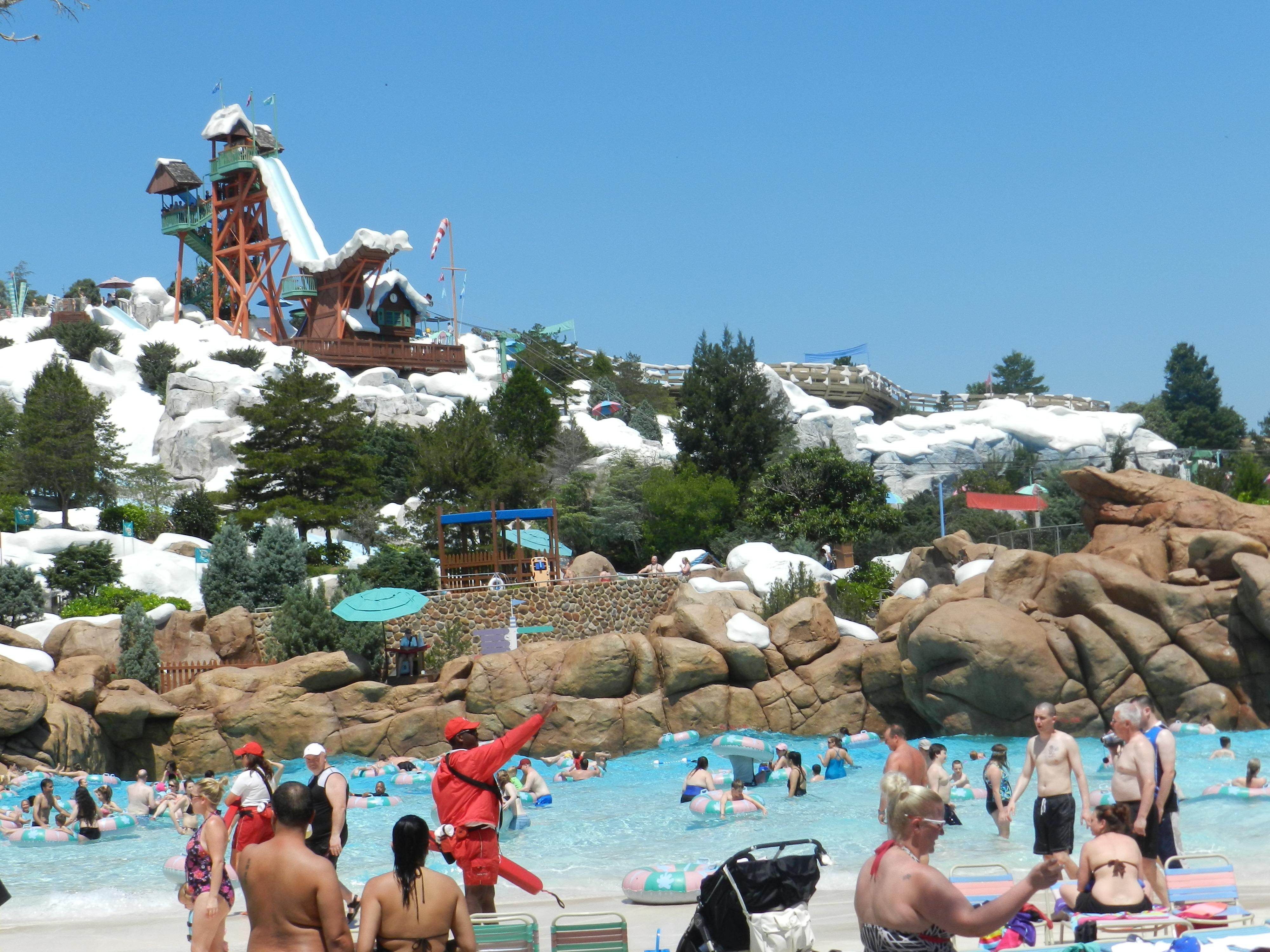 Disney's Blizzard Beach Summer 2014