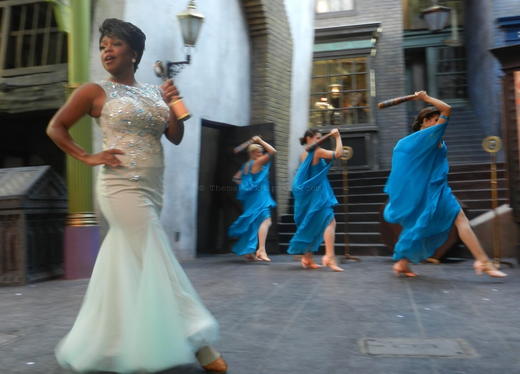 Celestina Warbeck at Diagon Alley Orlando
