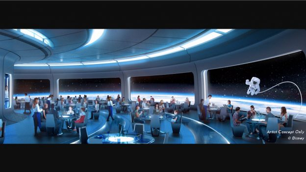 Epcot Space Theme Restaurant