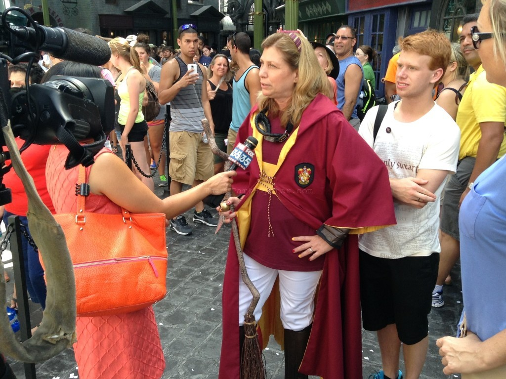 Diagon Alley Grand Opening DayQuidditch Celebrity