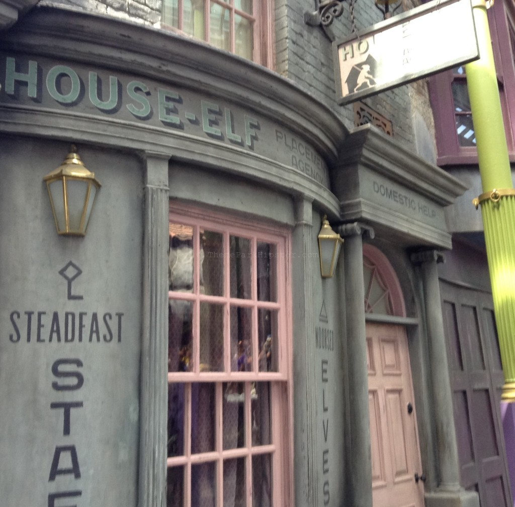 Diagon Alley Grand Opening Day House-Elf Replacement Agency