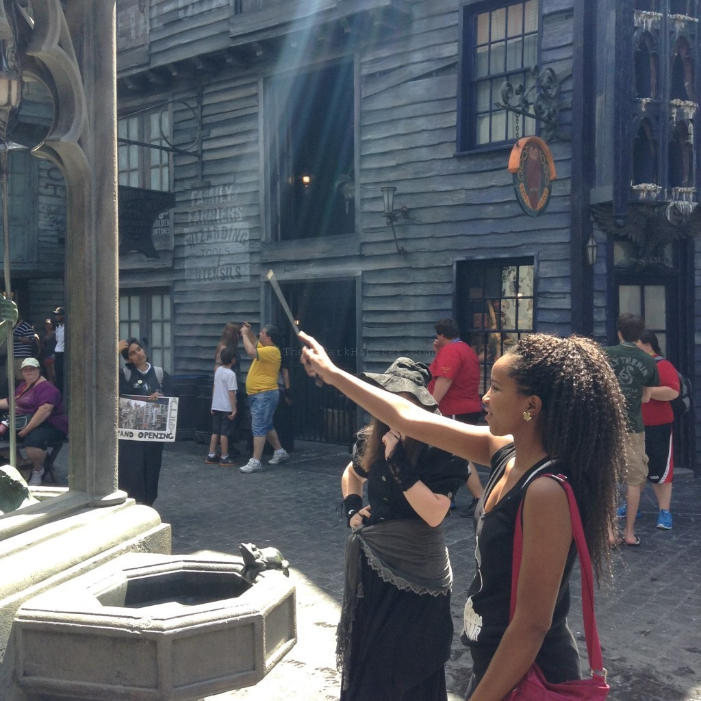 Wizards World of Harry Potter Diagon Alley Theme Parks Alone