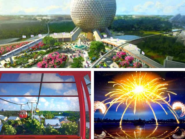 New Epcot Attractions at Disney