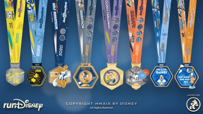 runDisney 2020 Medal