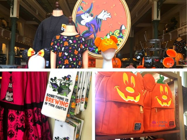 Disney Halloween Merchandise with Mickey Mouse Pumpkin Face Bag