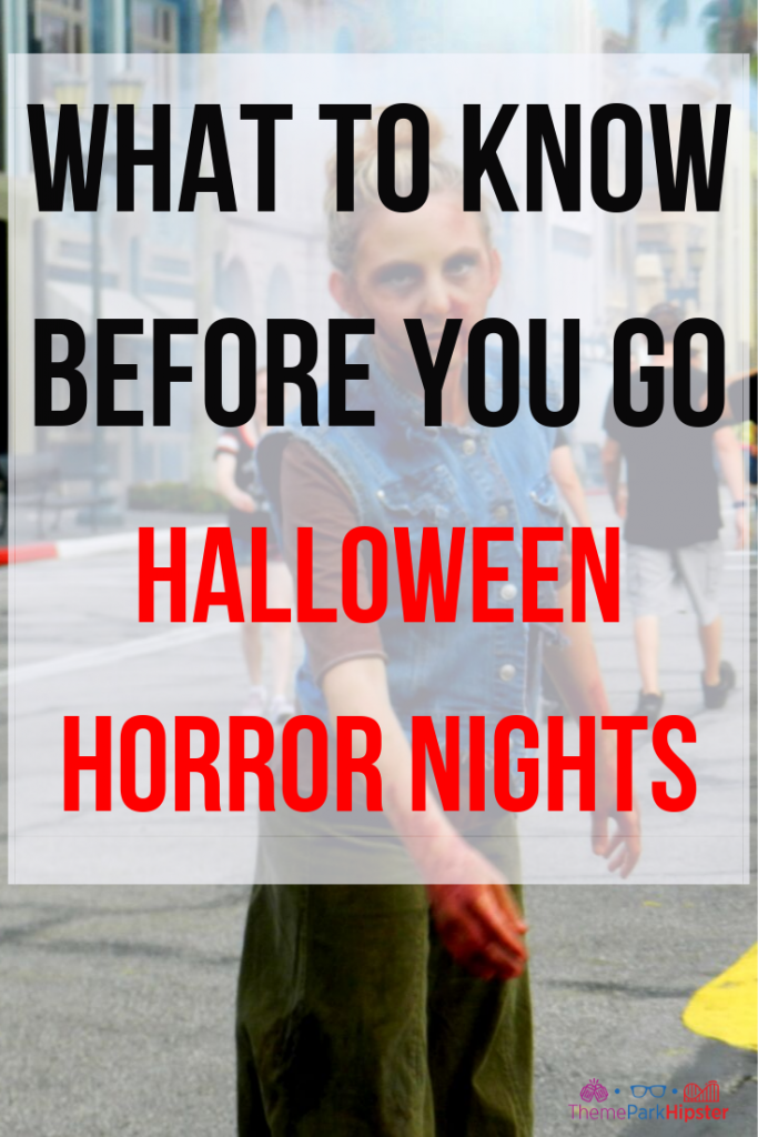 Halloween Horror Nights Frequently Asked Questions