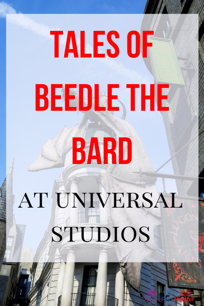 Tales of Beedle the Bard at Universal Studios