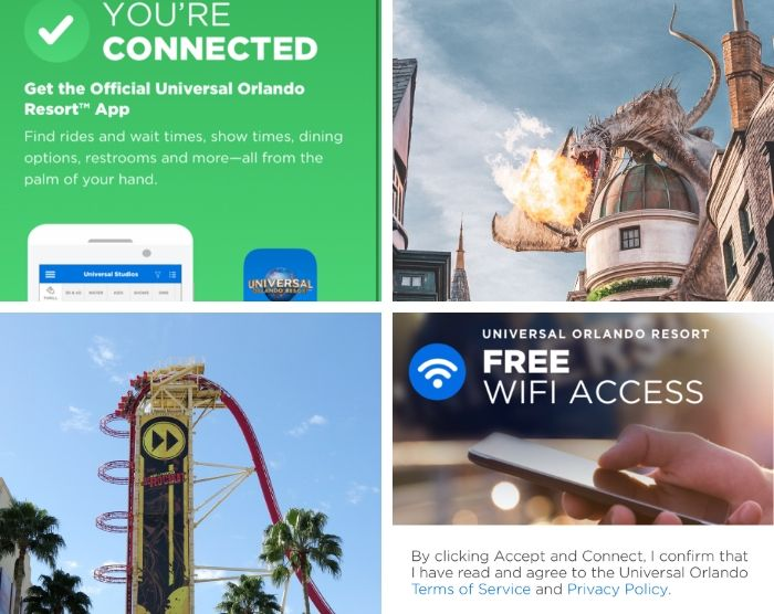 WiFi at Universal Orlando Resort Featured Image with Dragon over Gringotts