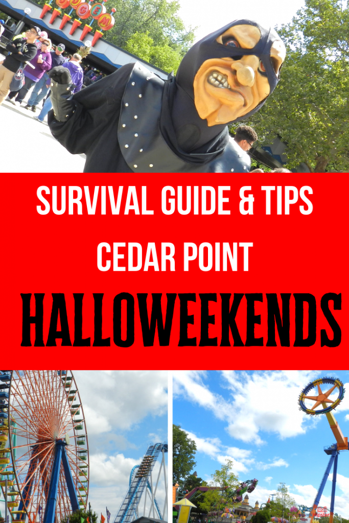 Cedar Point Halloweekends Tips
